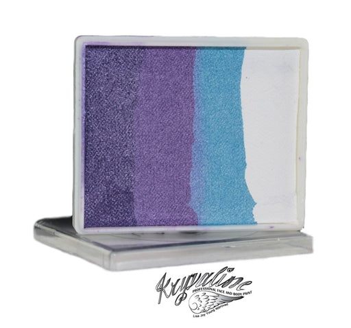 Kryvaline Face Paint Split Cake (Regular Line) - Purple Fairy Dust 50gr (Limited Edition) - Jest Paint Store