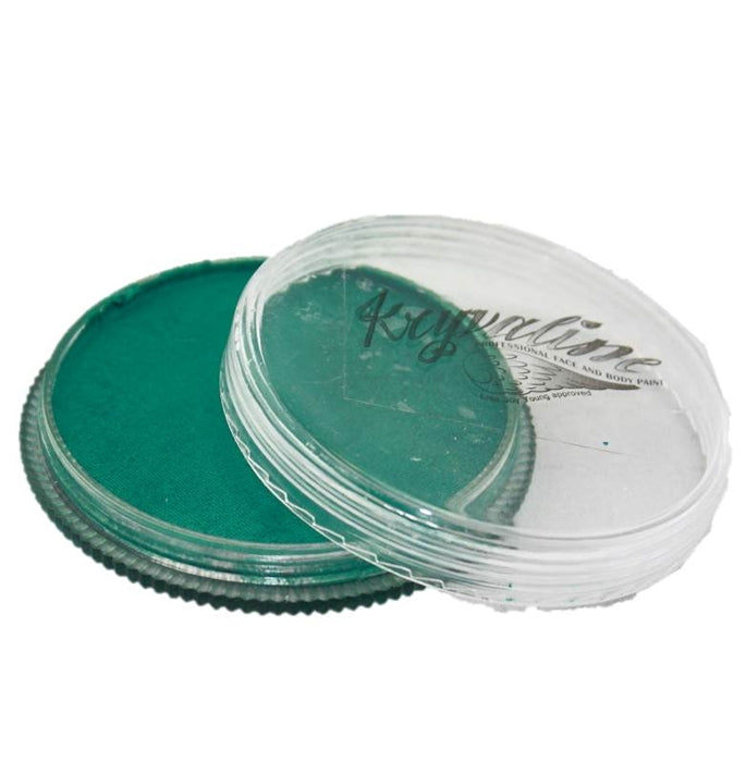 Kryvaline Face Paint Regular Line - Metallic Green 30gr - Jest Paint Store