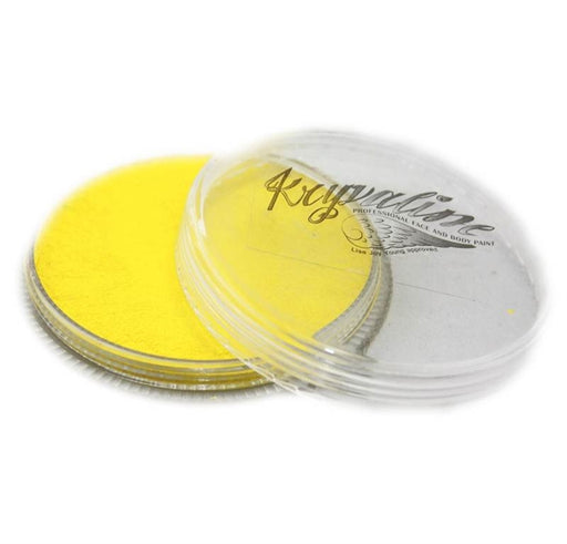 Kryvaline Face Paint Regular Line - Metallic Yellow 30gr - Jest Paint Store