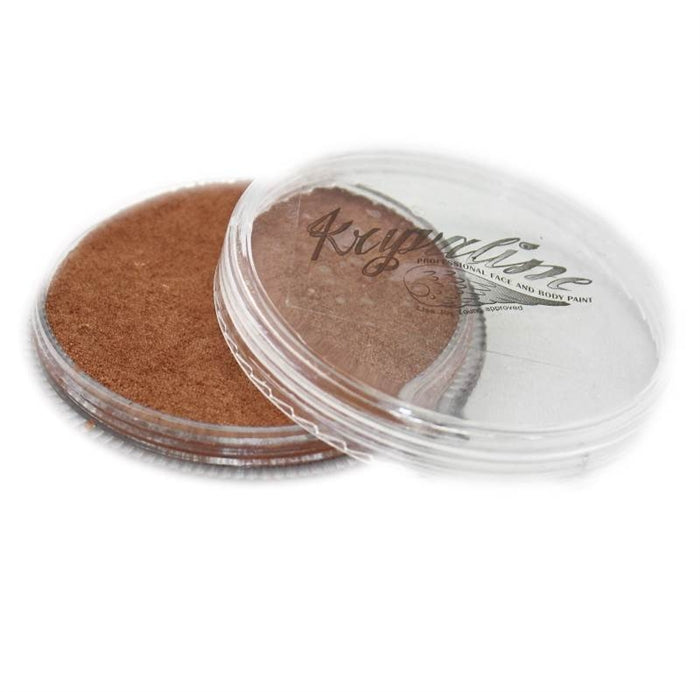 Kryvaline Face Paint Regular Line - Metallic Bronze 30gr - DISCONTINUE - Jest Paint Store