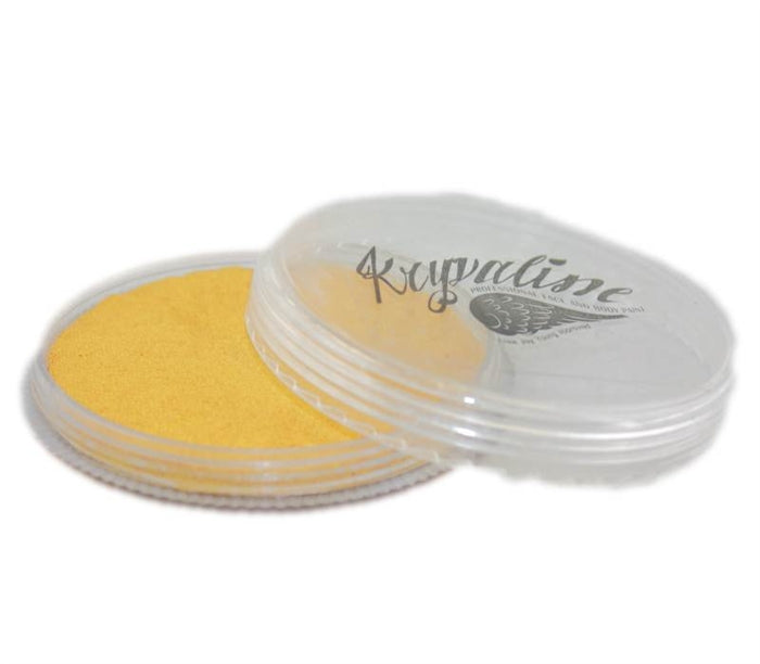 Kryvaline Face Paint Regular Line - Metallic Gold 30gr - Jest Paint Store