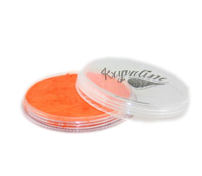 Kryvaline Face Paint Regular Line - Metallic Orange 30gr - Jest Paint Store