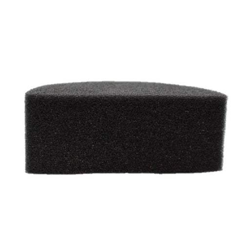 "Kryvaline - Large ""Never Stain""* Firm Black Face Painting Sponge - 1 Half - Jest Paint Store"