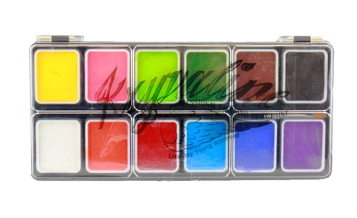 Kryvaline Face Paint  (Reg Line) -  Small 12 Color Essential Palette - Jest Paint Store