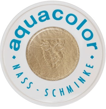 Kryolan Face Paint  Aquacolor - Metallic Gold - 1oz/30ML - Jest Paint Store