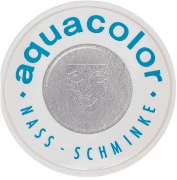 Kryolan Face Paint Aquacolor - Metallic Silver - 2oz/60gr - Jest Paint Store
