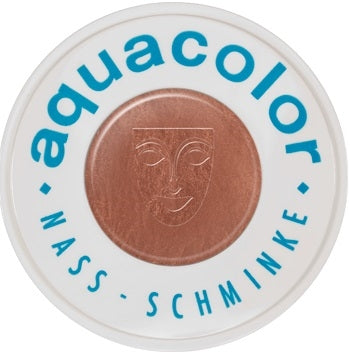 Kryolan Face Paint  Aquacolor - Metallic Copper - 2oz/60gr - Jest Paint Store