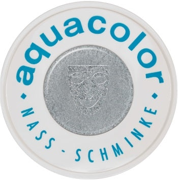 Kryolan Face Paint  Aquacolor - Metallic Silver Blue - 1oz/30ML - Jest Paint Store