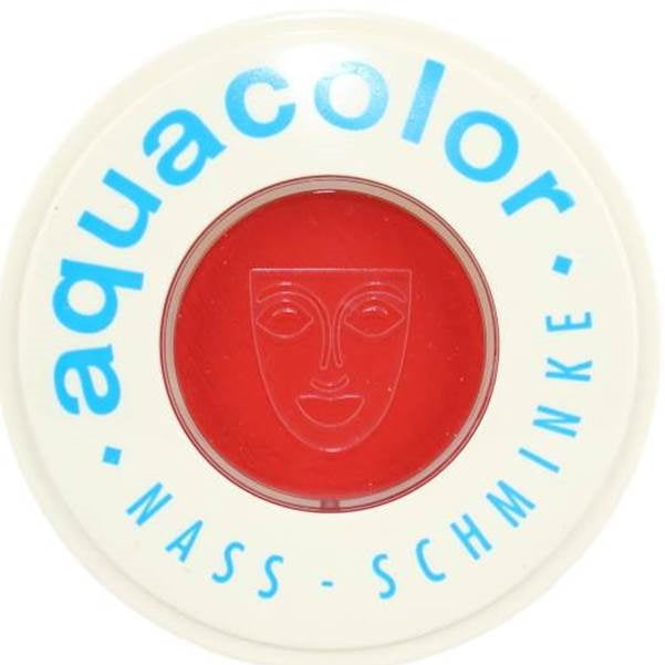 Kryolan Face Paint  Aquacolor - Carmine1 (Red) - 30ml - Jest Paint Store