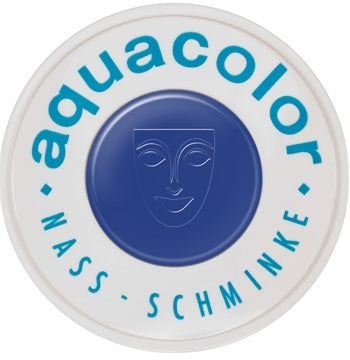 Kryolan Face Paint  Aquacolor - 510 (Royal Blue) - 30ml - Jest Paint Store