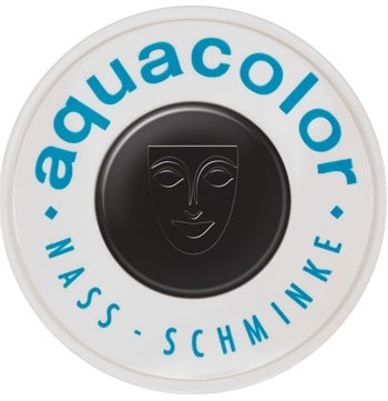 Kryolan Face Paint  Aquacolor - 071 (Black) - 30ml - Jest Paint Store