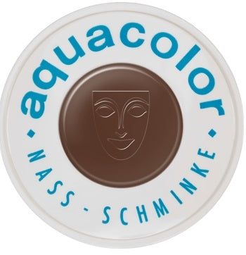 Kryolan Face Paint  Aquacolor - 043 (Medium Brown) - 30ml - Jest Paint Store