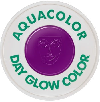Kryolan Day Glow Aquacolor - UV Violet - 30ml - Jest Paint Store