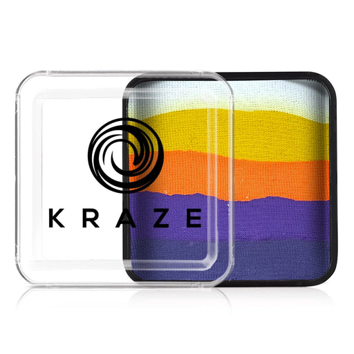 Kraze FX Special Effects Paints | Domed Rainbow Cake - Sunset Dreams (neon) 25gr - Jest Paint Store