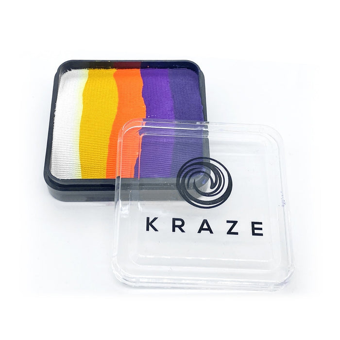 Kraze FX Special Effects Paints | Domed Rainbow Cake - Sunset Dreams (neon) 25gr