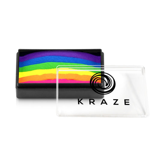 Kraze FX Paints | Domed 1 Stroke Cake - Bright Neon 25gr - Jest Paint Store