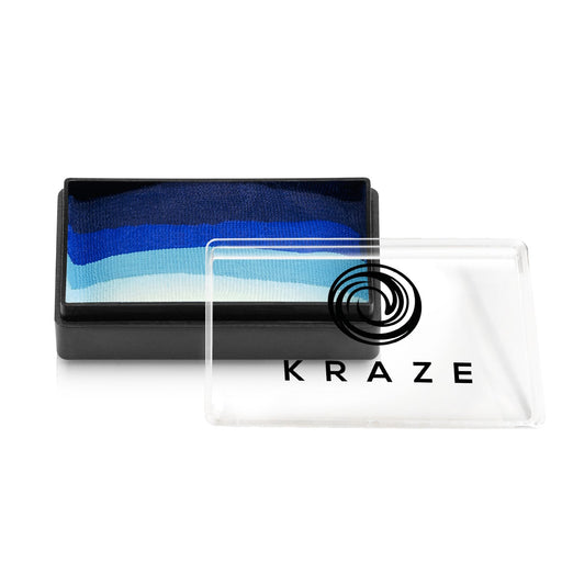 Kraze FX Face and Body Paints | Domed 1 Stroke Cake - DISCONTINUED - Tardis 25gr - Jest Paint Store
