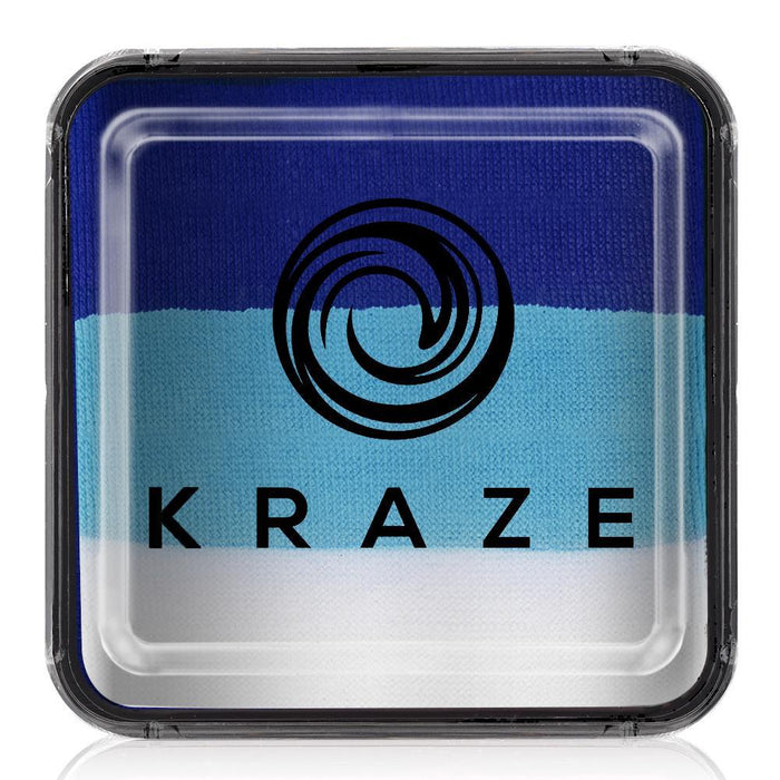 Kraze FX Face and Body Paints | Domed Rainbow Cake - Oceanic 25gr - Jest Paint Store