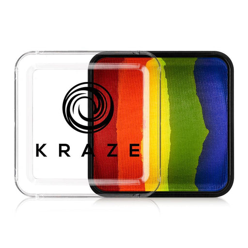 Kraze FX Face and Body Paints | Domed Rainbow Cake - Really Rainbow 25gr - Jest Paint Store