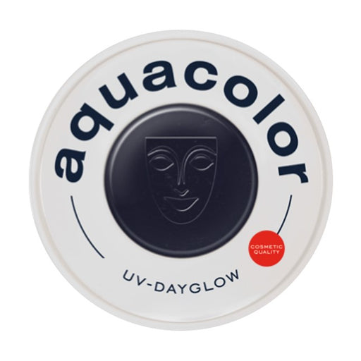 Kryolan Aquacolor Face Paints | Cosmetic Grade - UV Dayglow Black 30ml