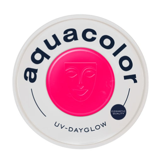 Kryolan Aquacolor Face Paints | Cosmetic Grade - UV Dayglow Magenta  30ml - Jest Paint Store
