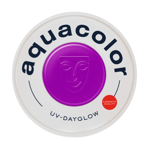 Kryolan Aquacolor Face Paints - Cosmetic Grade UV Dayglow Purple- 30ml