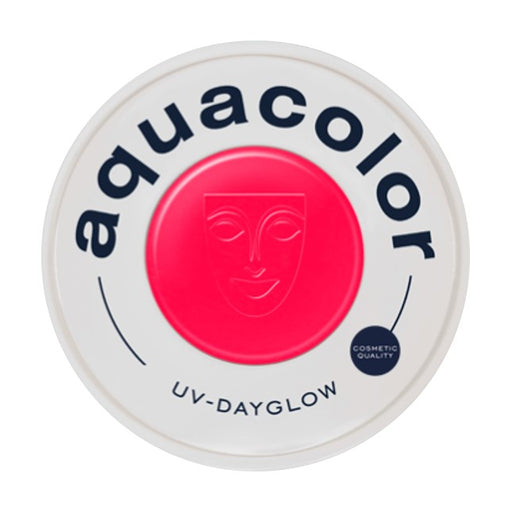 Kryolan Aquacolor Face Paints | Cosmetic Grade - UV Dayglow Red 30ml - Jest Paint Store