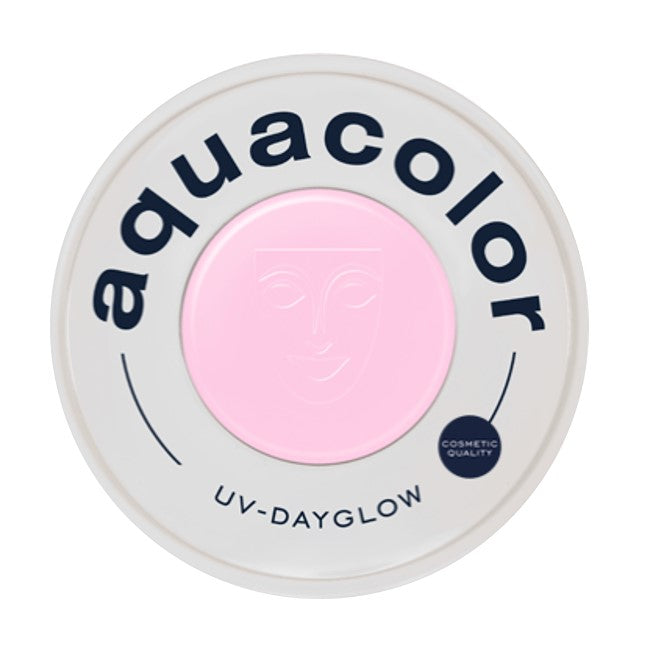 Kryolan Aquacolor Face Paints | Cosmetic Grade - UV Dayglow Rose  30ml
