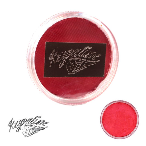 Kryvaline Face Paint (Creamy line) - Pearly Red 30gr