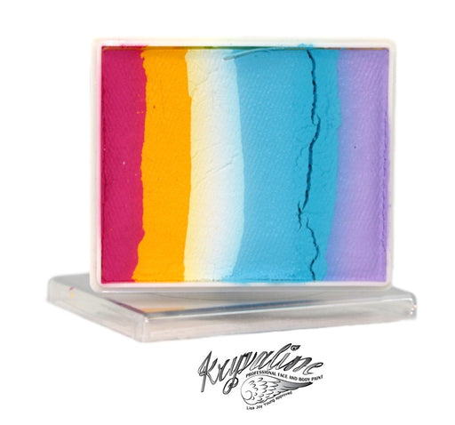 Kryvaline Face Paint Split Cake (Regular Line) - Circus 50gr