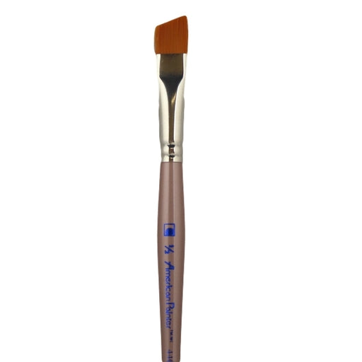 "Face Painting Brush - Loew-Cornell - American Painter 4400-1/2 - Angular  1/2"" - Jest Paint Store"