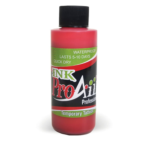 ProAiir INK Alcohol-Based Airbrush Body Paint 2oz - Lipstick Red