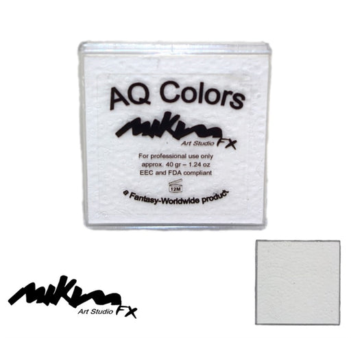 MiKim FX Face Paint | Regular Matte - White F1 (40gr) - Jest Paint Store