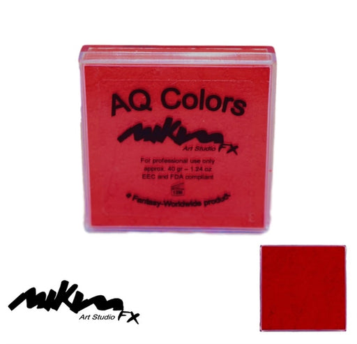 MiKim FX Face Paint | Regular Matte - Cold Red F8 (40gr) - Jest Paint Store