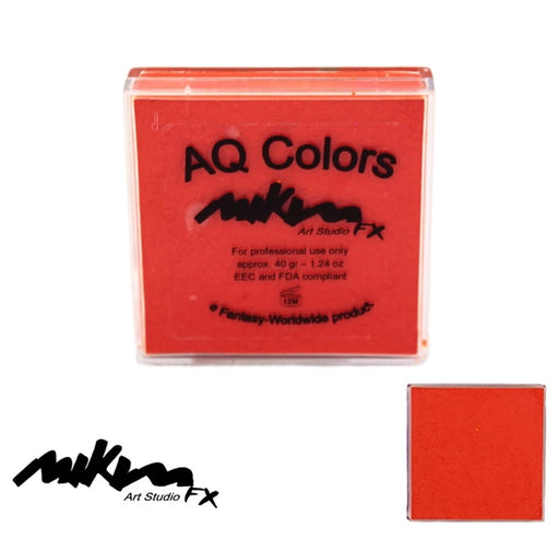 MiKim FX Face Paint | Regular Matte - Orange F5 (40gr) - Jest Paint Store