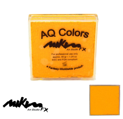 MiKim FX Face Paint | Regular Matte - Yellow F3 (40gr) - Jest Paint Store