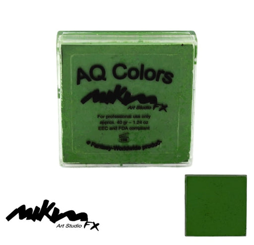 MiKim FX Face Paint | Regular Matte - Dark Green F20 (40gr) - Jest Paint Store