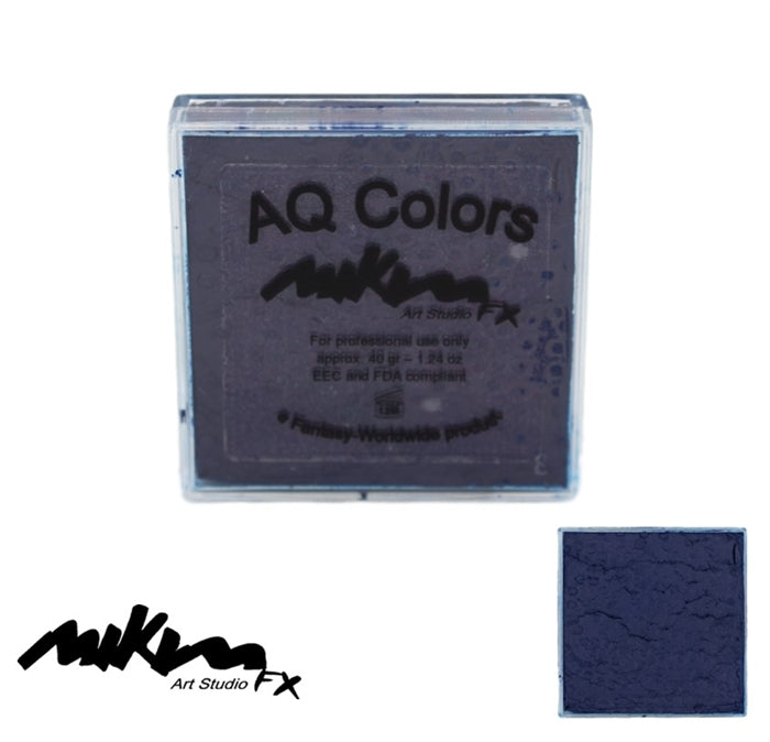 MiKim FX Face Paint | Regular Matte - Dark Night F16 (40gr) - DISCONTINUE - Jest Paint Store