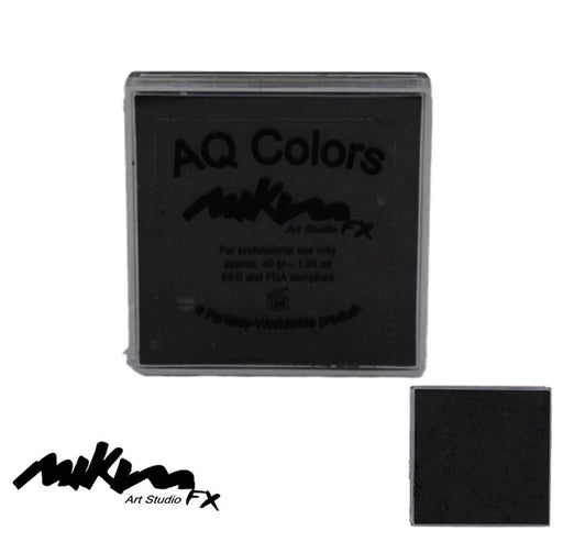 MiKim FX Face Paint | Regular Matte - Black F27 (40gr) - Jest Paint Store