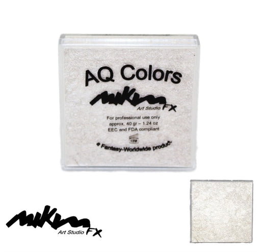 MiKim FX Face Paint | Special (Pearl) - White S1 (40gr) - Jest Paint Store