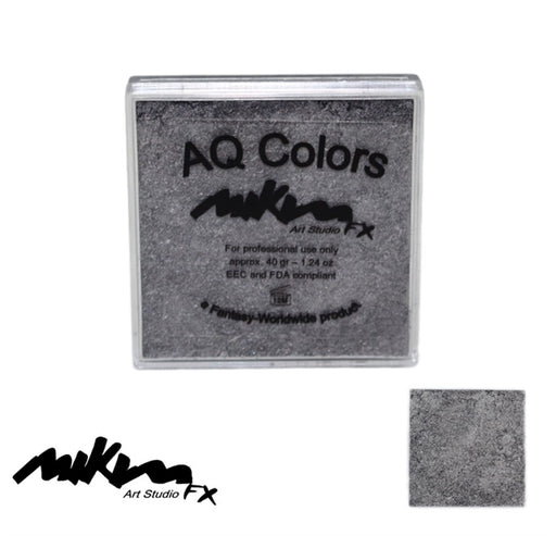 MiKim FX Face Paint | Special (Pearl) - Silver S4 (40gr) - DISCONTINUE - Jest Paint Store