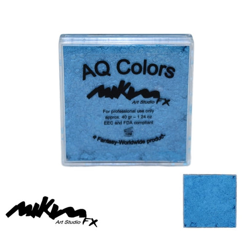 MiKim FX Face Paint | Special (Pearl) - Electric Blue S5 (40gr) - DISCONTINUE - Jest Paint Store