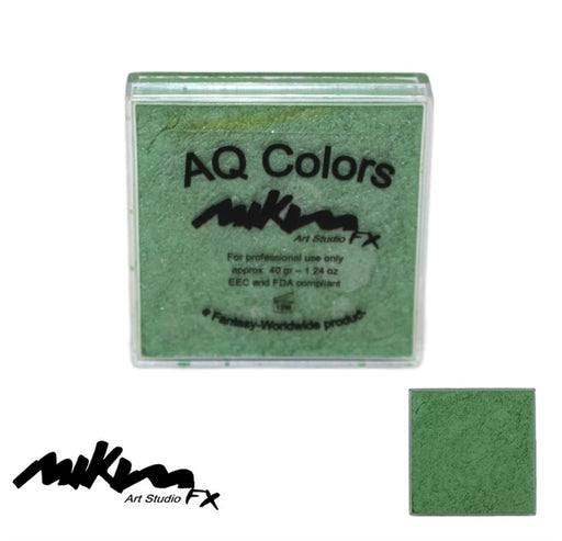 MiKim FX Face Paint | Special (Pearl) - Green S6 (40gr) - Jest Paint Store