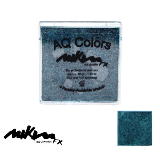 MiKim FX Face Paint | Special (Pearl) - Golden Blue S9 (40gr) - Jest Paint Store
