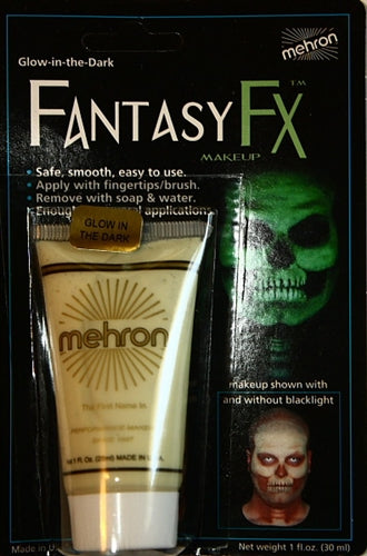 Fantasy FX  By Mehron - Glow in the Dark - Jest Paint Store