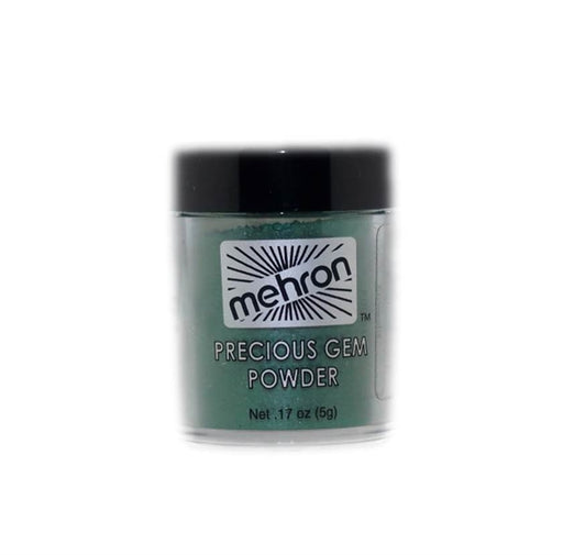 Mehron Precious Gem Mica Powder -  Emerald - DISCONTINUE - Jest Paint Store