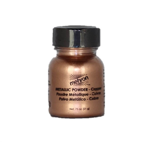 Mehron | Metallic Face Painting Powder -  Copper  - 1oz - Jest Paint Store