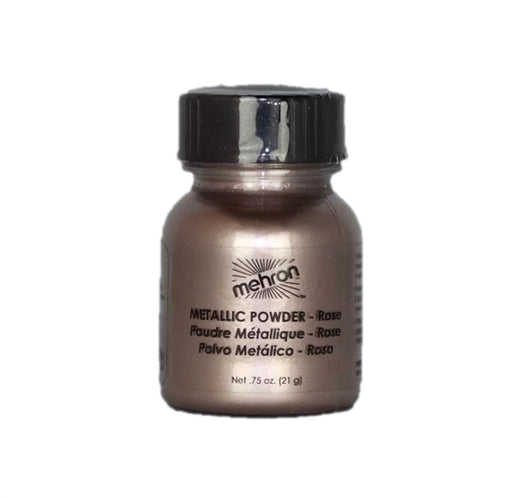 Mehron | Metallic Face Painting Powder -  Rose  - 1oz - Jest Paint Store