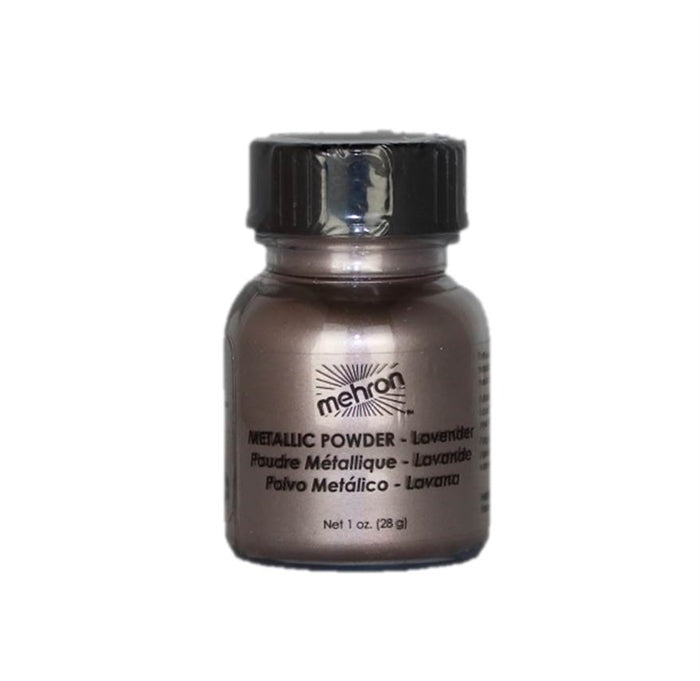 Mehron | Metallic Face Painting Powder - Lavender  - 1oz - Jest Paint Store