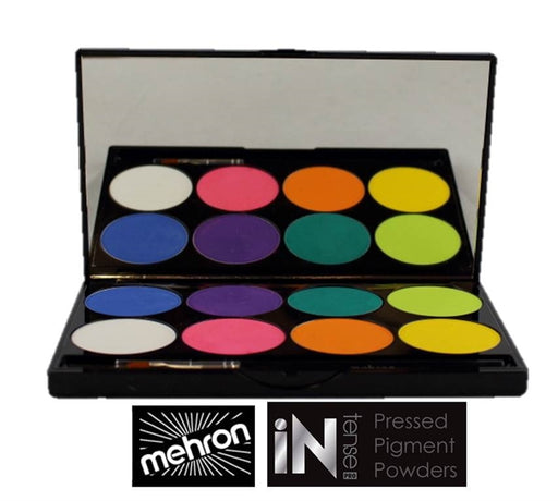 Mehron INtense Pressed Powder Pigments - Fire - Jest Paint Store